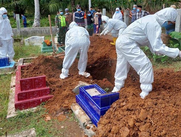 Pendampingan Pemakaman Jenazah Terhadap Warga Binaan Dilakukan Personel Jajaran Kodim 0207/Simalungun