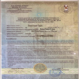 Egyptraveluxe Business Licences