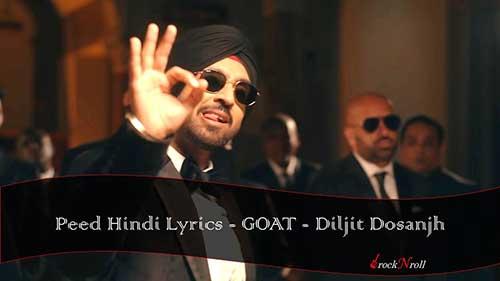 Peed-Hindi-Lyrics-GOAT-Diljit-Dosanjh