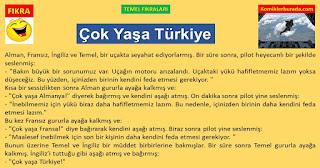 En komik Fıkralar - Temel Fıkraları - Çok Yaşa Türkiye - komiklerburada