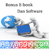 Bonus Ebook dan Software