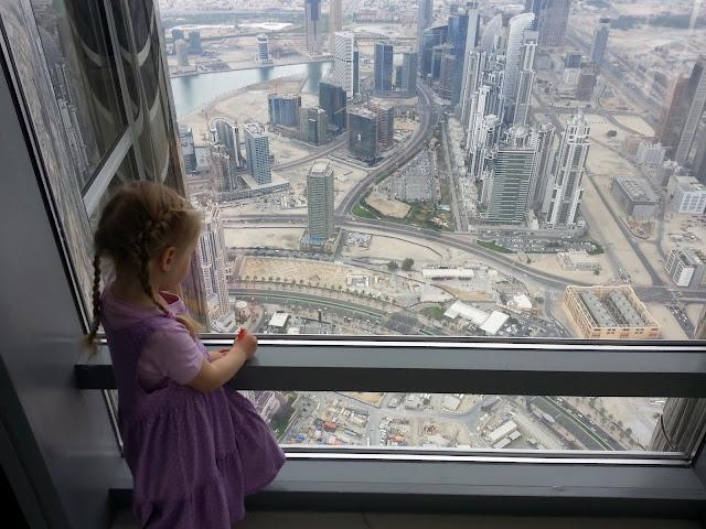 maisema näkymä lapsi pilvenpiirtäjä