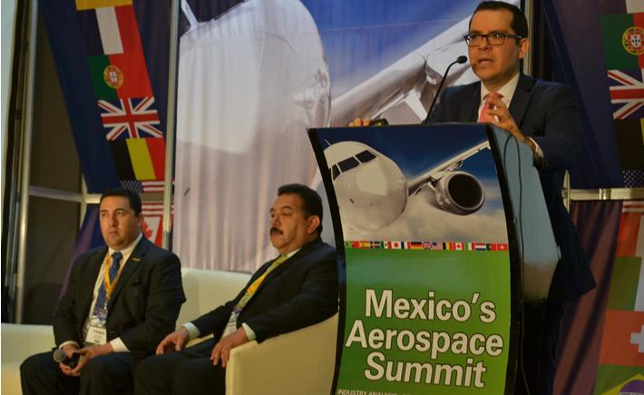 El Mexico ´s Aerospace Summit inició este miércoles con la participación de cientos de empresas de la cadena de suministro de la industria aeroespacial. (Foto: Vanguardia Industrial)