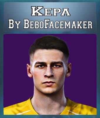 PES 2020 Kepa Arrizabalaga Face by Bebo Facemaker