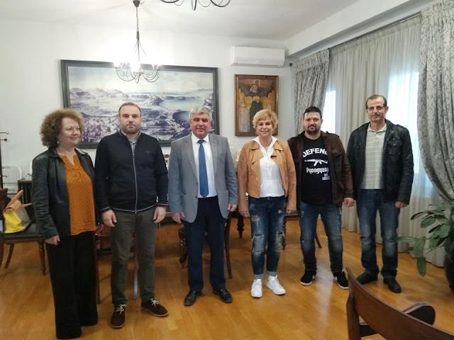 Συνάντηση του Δημάρχου Πρέβεζας με το Διοικητικό Συμβούλιο του Εμπορικού Συλλόγου