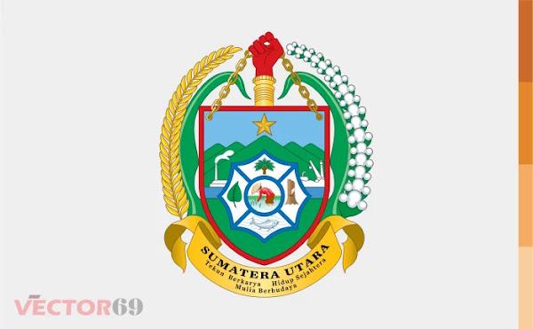 Provinsi Sumatera Utara (Sumut) Logo - Download Vector File AI (Adobe Illustrator)