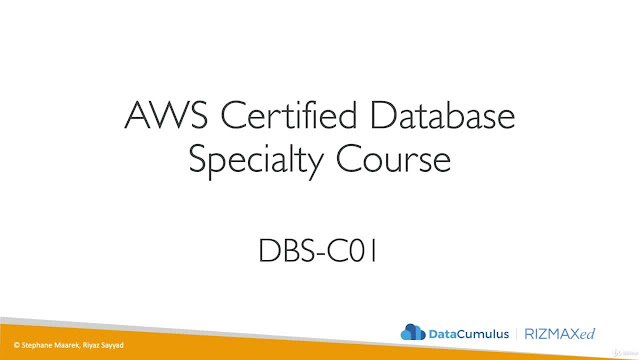 [NEW] Ultimate AWS Certified Database Specialty - 2020