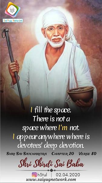 I Am Alive Because Of Sai Baba