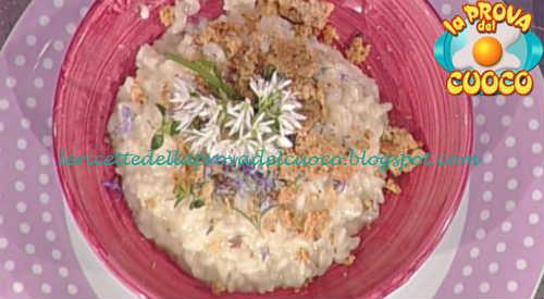 Ricetta Risotto allo zenzero limone e rosmarino di Sergio Barzetti da Prova del Cuoco