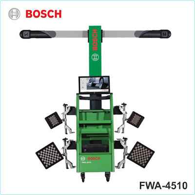 Máy kiểm tra và cân chỉnh góc đặt bánh xe công nghệ 3D Bosch
