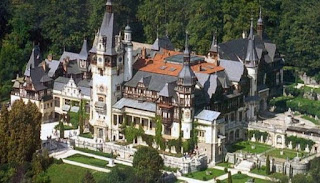 Peles Castle one of the most beautiful monuments
