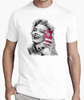 camisetas originales de Marilyn Monroe