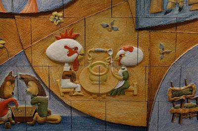 武井武雄の世界 イルフ童画館 動物の絵
