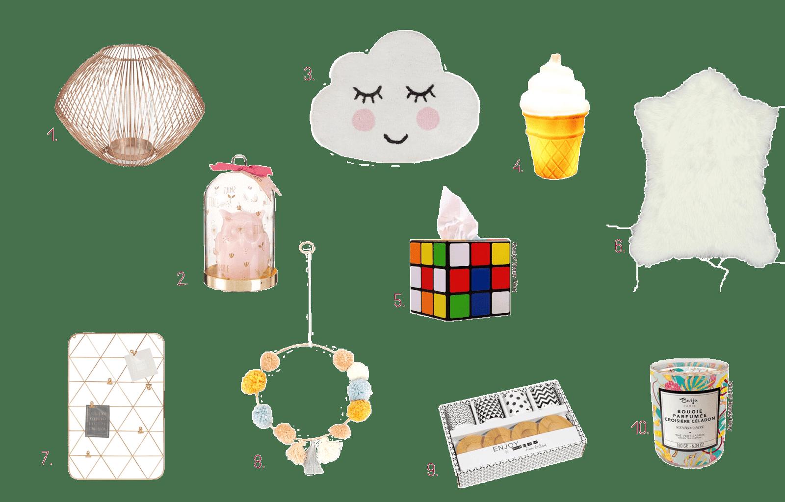 idées cadeaux petit prix noël 2017 déco maison
