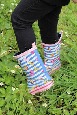 bottes de pluie pour fille