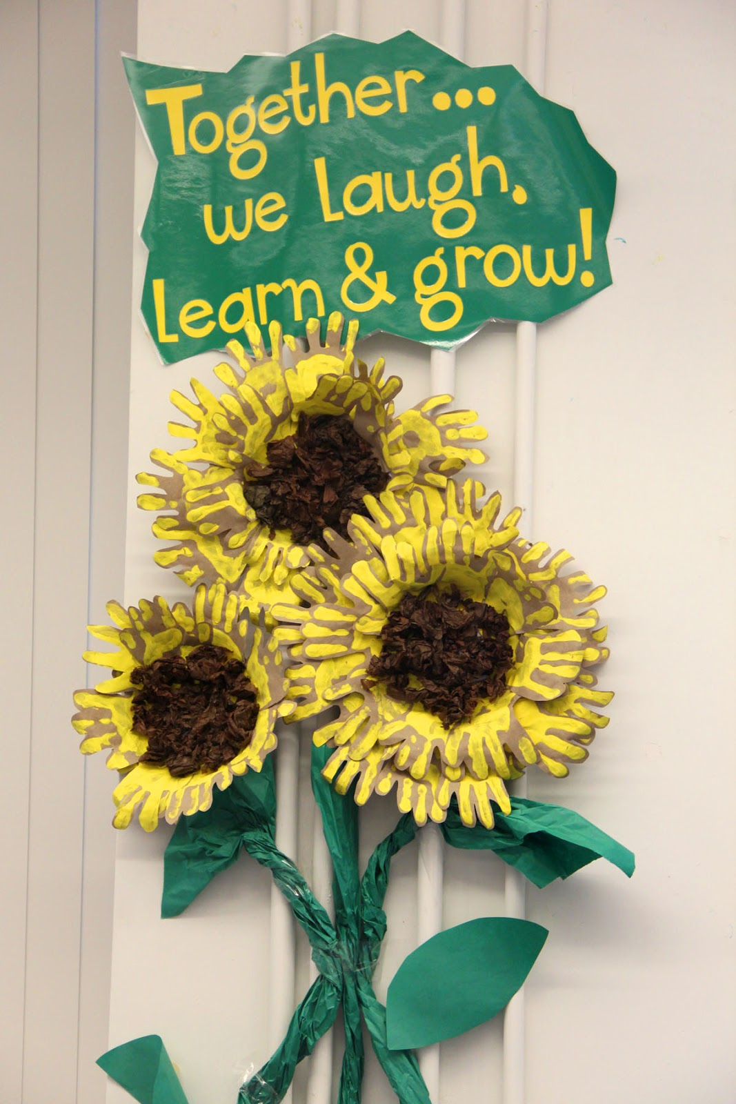 Classroom Door Decoration Ideas Reading ~ Joyful learning in kc sunflowers and summer
