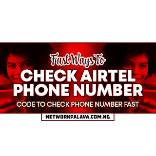 how to check my airtel number free