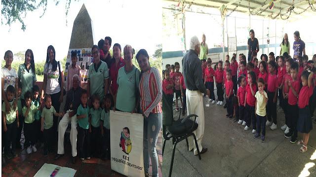 APURE: Pequeños Creativos y Colegio de entrenadores conmemoraron 202 años de la Tomas de las Flecheras en San Fernando.
