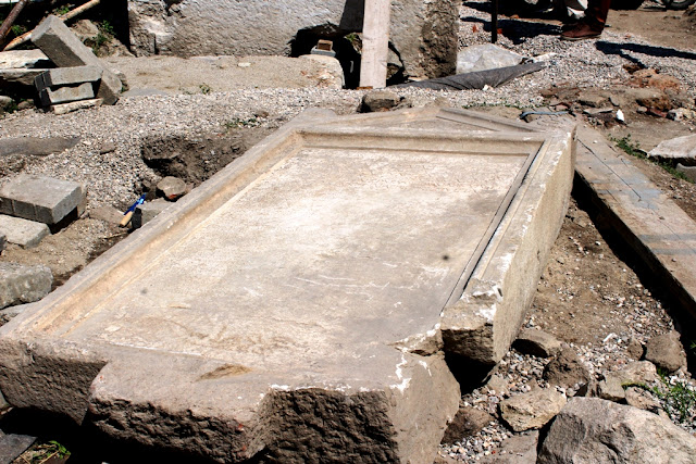 Third-century Greek inscription with names of Dionysus cult found in Bulgaria's Plovdiv