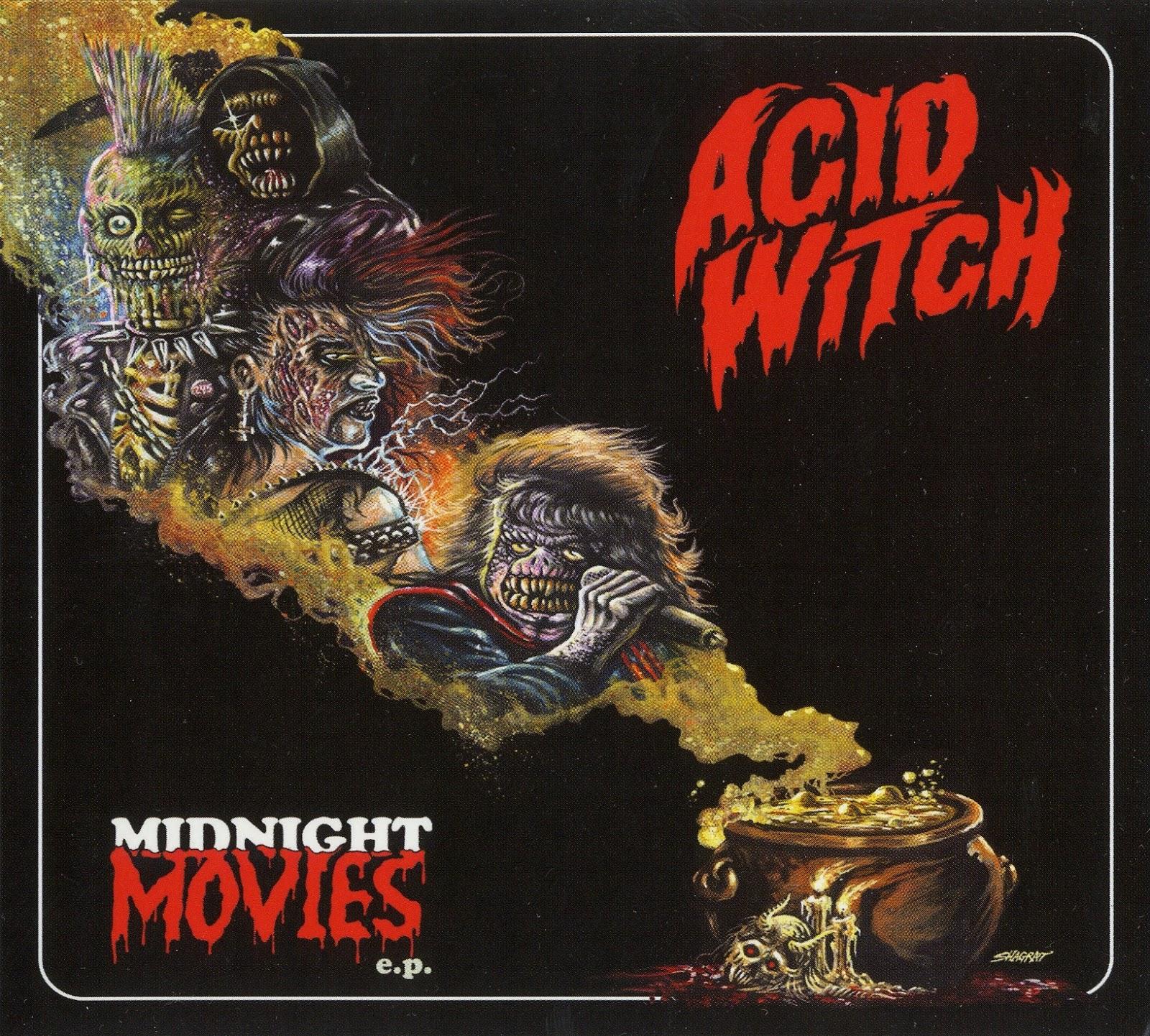 Inferno Em Chamas Cool emoción violenta: acid witch
