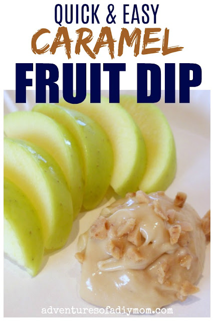 quick and easy caramel fruit dip