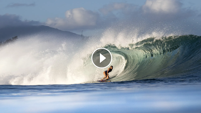 Vans Off The Wall Moment Moana Jones On Pipeline And Drawing Inspiration From Surf Legends