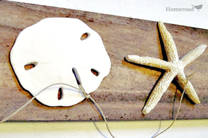 starfish and sand dollar garland