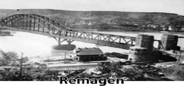 Tomada da ponte Ludendorff II Guerra Mundial / Frente Ocidental 07-03-1945