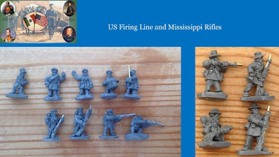 US Firing Line & Mississippi Rifles
