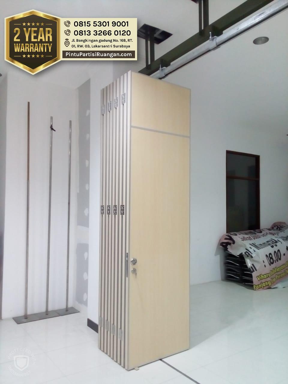 Pireki Partisi Ruangan Pintu Geser Minimalis Jakarta Pusat