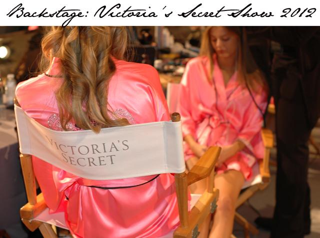 Victoria's Secret Fashion Show Backstage