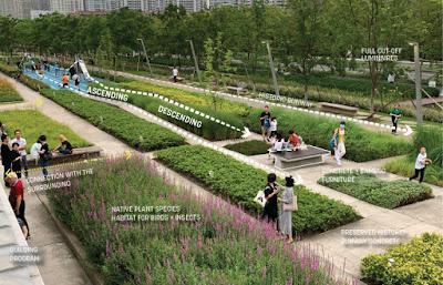 El parque Xuhui de Shanghái, un proyecto ambicioso, curiosidades