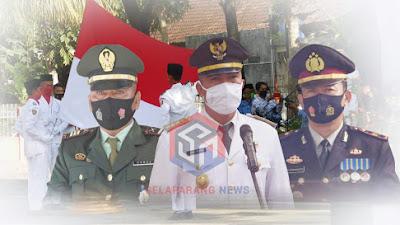 Percikan Semangat Kemerdekaan, Pemerintah Kecamatan Sikur Lotim Gelar Apel Di Kantor Camat