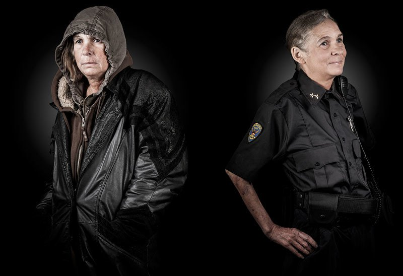Photographer Captures The Touching Portraits Of Homeless People And Their Old Dreams