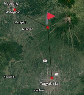 Penampakan Cahaya Meteor Dan Suara Misterius Di Gunung Merapi