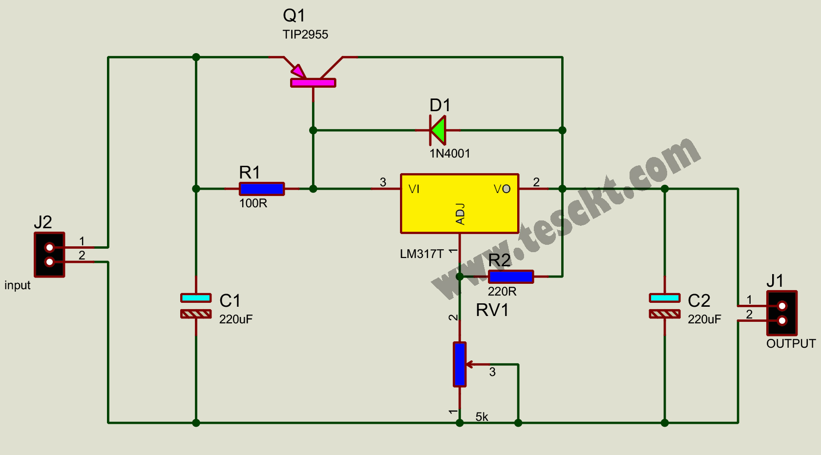 high current power supply
