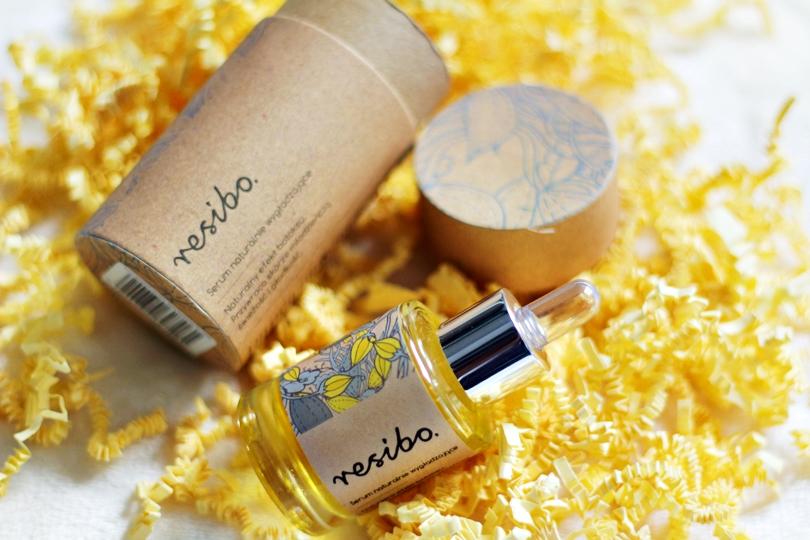 resibo, serum naturalnie wygładzające, eko, bio, naturalne, składniki, witamina c, przeciwzmarszczkowy, olejek, do twarzy, beauty,
