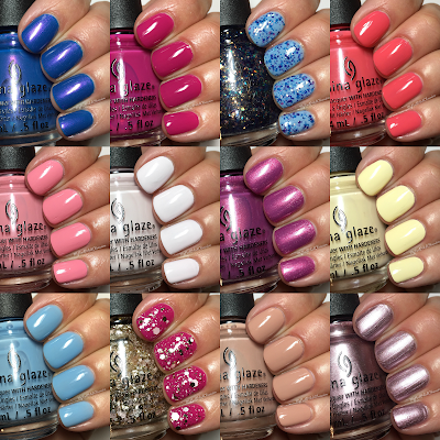 China Glaze House Of Colour, Spring 2016