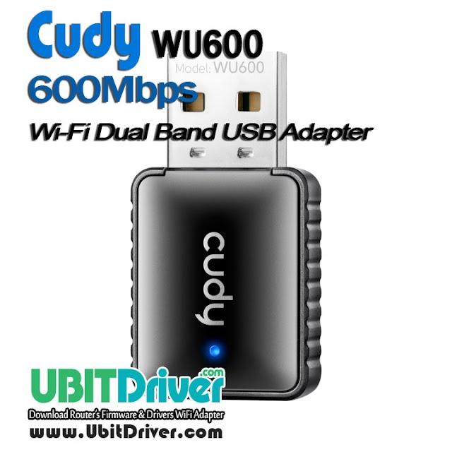 Cudy Driver WU600 600Mbps Wi-Fi Dual Band USB Adapter