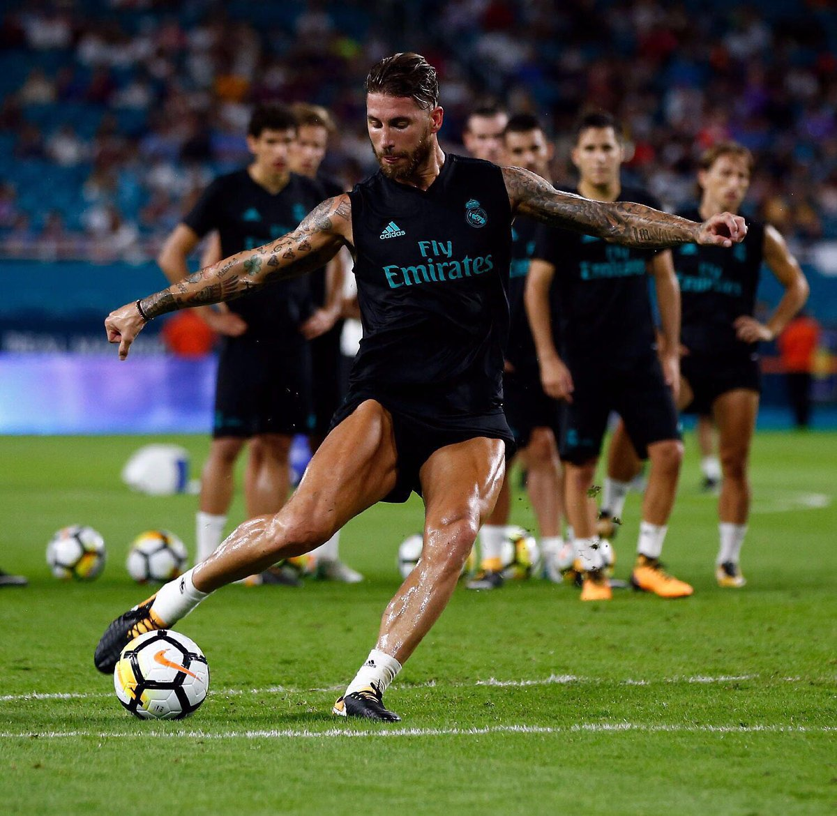 Sergio Ramos Makes Another Surprise Boot Switch Footy Headlines