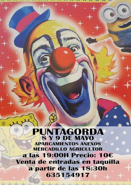 Llega el Circo a Puntagorda