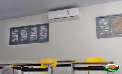 Chicó Maria tem salas climatizadas