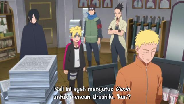 Boruto: Naruto Next Gemerations Episode 128 Subtitle Indonesia