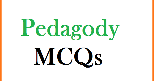 PPSC FPSC NTS: Pedagogy MCQs