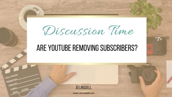 Are YouTube removing subscribers?
