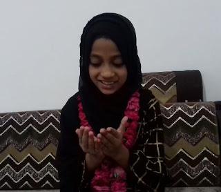 8 वर्षीय बच्ची ने  रोजा रख अल्लाह से कोरोनावायरस को खत्म करने की दुआ की