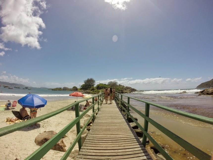 O que fazer em Florianópolis Praia da Armação