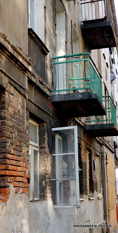 balkon Szmulowizna kamienica Warszawa Warsaw praskie ulice praskie klimaty Praga Północ architektura kamienice