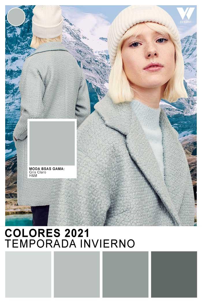 Grisaceos otoño invierno 2021 colores de moda 2021