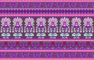 Traditional-illustration-indian-motif-textile-border-210049
